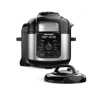 Ninja FD401C Foodi 8-QT. 9-in-1 Deluxe XL Pressure Cooker & Air Fryer - Stainless Steel