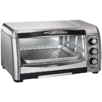 Hamilton Beach 31333C 6 Slice All Stainless Steel Convection Toaster Oven