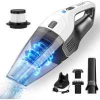 Holife Handheld Vacuum, 7.5KPA Portable Vacuum Cleaner