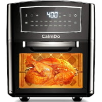 CalmDo Air Fryer, 12L Convection Oven, Toaster Convection, Food Dehydrator, Digital Control 18 Preset Functions for Fry