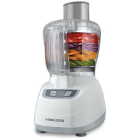 DECKER Food Processor with Continuous Chute for Vegetables