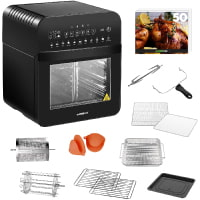 GoWISE USA GW44803 Ultra 12.7-Quart Electric Air Fryer Oven with Rotisserie and Dehydrator