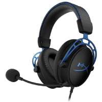 HyperX Cloud Alpha S - PC Gaming Headset, 7.1 Surround Sound, Adjustable Bass, Dual Chamber