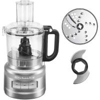 KitchenAid KFP0718CU 7 Cup Food Processor, Contour Silver