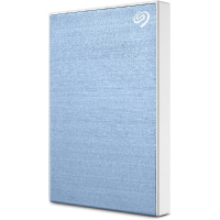 Seagate Backup Plus Slim 2TB External Hard Drive Portable HDD Light Blue USB 3.0