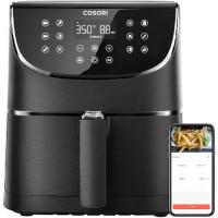 COSORI Smart WiFi Air Fryer, 5.8QT Oil Free XL Electric Hot Air Fryers Oven