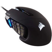 Corsair Scimitar RGB Elite, MOBA/MMO Gaming Mouse