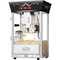 6092 Great Northern Popcorn Black Antique Style Popcorn Popper Machine