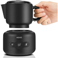 AEVO Automatic Milk Frother Machine, Electric Milk Warmer