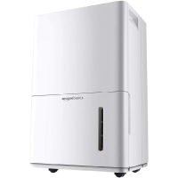Amazon Basics Dehumidifier with Drain Pump - For Areas Up to 4,000 Square Feet, 50-Pint