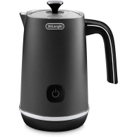 De'Longhi EMFIBK Metal Electric Milk Frother with Hot and Cold Function