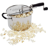 StovePop Stainless Steel Popcorn Popper by VICTORIO VKP1160