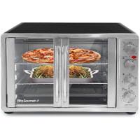 Matic Double Door Toaster Oven Rotisserie