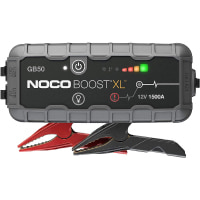NOCO Boost XL GB50 1500 Amp 12-Volt UltraSafe Portable Lithium Jump Starter Box, Car Battery Booster Pack, And Heavy Duty Jumper Cables For Up To 7-Liter Gasoline And 4-Liter Diesel Engines