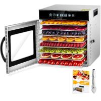 8 Layers Food Dehydrator, Stainless Steel Food Dryer