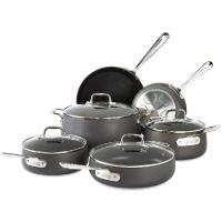 All-Clad E785SC64 Ha1 Hard Anodized Nonstick Dishwasher Safe PFOA Free Cookware Set