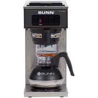 BUNN VP17-1, 12-Cup Low Profile Pourover Commercial Coffee Maker
