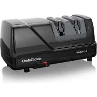 Chef'sChoice 315 XV Versatile Professional Diamond Hone Electric Knife Sharpener for Straight edge or Serrated knives
