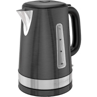 Electric Kettle Cordless in Black Stainless Steel