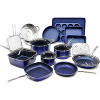 Granite Stone Pots and Pans Set, 20 Piece Complete Cookware
