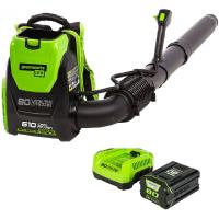 Greenworks PRO 80V 145 MPH - 580 CFM Cordless Backpack Blower