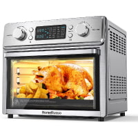 HomeRusso 24-in-1 Air Fryer Oven, 25L Toast Convection Oven