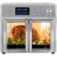 Kalorik 26 QT Digital Maxx Air Fryer Oven with 9 Accessories, Roaster, Broiler, Rotisserie, Dehydrator, Oven, Toaster