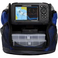 Lowrance Hook Reveal 5 SplitShot Ice Pack - 5-inch Fish Finder with Ice Transducer