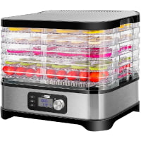 VIVOHOME Electric 400W 5 Trays Food Dehydrator Machine