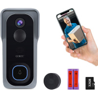 Video Doorbell Camera Wireless with Chime
