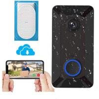 Wireless Video Doorbell Camera with Indoor Chime,
