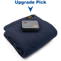 Cozee Heated Blanket Battery Operated Portable Outdoor Cordless Heating Blanket