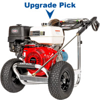 Gas Pressure Washer with Honda GX390 OHV Engine