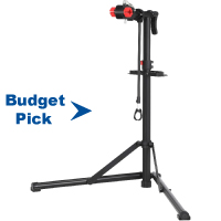 SONGMICS Bike Repair Stand, Heavy-Duty Bike Workstation, Sturdy, Black USBR07B