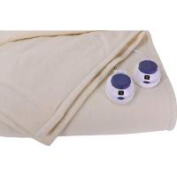 Soft Heat Luxury Micro-Fleece Low-Voltage Electric Heated Queen Size Blanket